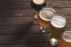 Различные типы пива Стоковые Фотографии RF