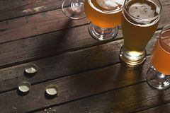 Различные типы пива Стоковое Изображение RF