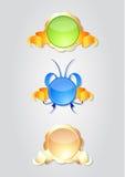 различные уплотнения иллюстрация вектора