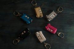 Различные цвета электрофонарей стоковое изображение rf