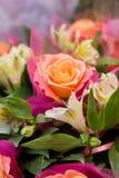 Различные цветки в букете Стоковое фото RF
