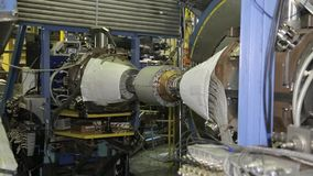 Различные части коллайдера 038/052 электрон-поситрона акции видеоматериалы