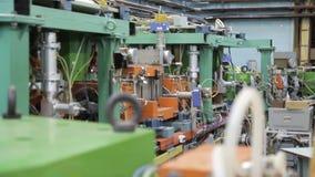 Различные части коллайдера 039/052 электрон-поситрона видеоматериал