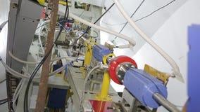 Различные части коллайдера 040/052 электрон-поситрона акции видеоматериалы