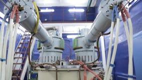 Различные части коллайдера 042/052 электрон-поситрона акции видеоматериалы