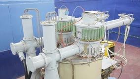 Различные части коллайдера 046/052 электрон-поситрона видеоматериал