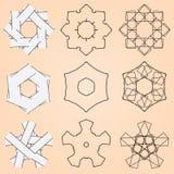 Различные элементы конструкции типа бесплатная иллюстрация