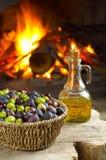 различный вид оливок Стоковые Фото