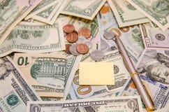 Различный доллар как предпосылка Стоковое Фото