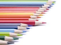 различный карандаш Стоковая Фотография
