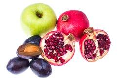 Различный плодоовощ для сока или питья стоковая фотография