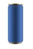 Размер алюминиевой чонсервной банкы тонкий Стоковое Фото