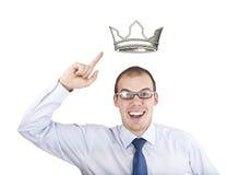 размер короля Стоковое Изображение