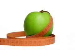 размер яблока sliming Стоковые Фото