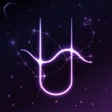Разметьте символ Ophiuchus концепции зодиака и гороскопа, искусства вектора и иллюстрации Стоковые Фотографии RF