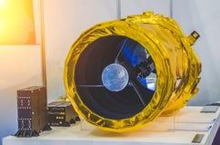 Разметьте спутник для наблюдать поверхностью ` s земли Стоковая Фотография