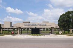 размещает штаб мир philip США morris Стоковая Фотография RF