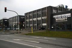 размещайте штаб компания benteler, Падерборн, Германия, автомобильное разделение Стоковые Изображения