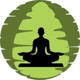 Разминка йоги Стоковые Фото