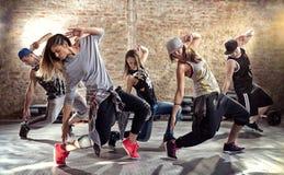 Разминка фитнеса танца стоковая фотография rf