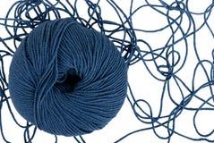размотанный шнур шарика Стоковые Фото