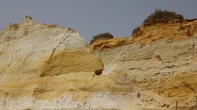 Размывание геологии утеса песчаника Стоковое фото RF