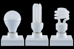 Разнообразие ламп Стоковая Фотография RF