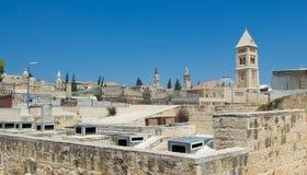 Разнообразие архитектуры в Иерусалиме Стоковое Изображение