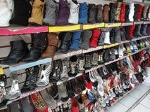 разнообразие ботинка Стоковая Фотография