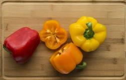 Разнообразие болгарского перца Стоковое фото RF