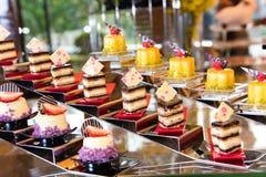 Разнообразие десерта стоковое фото