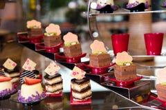 Разнообразие десерта стоковое изображение rf