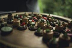Разнообразие закуски стоковые фотографии rf