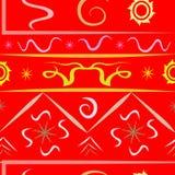 Разнообразие картины красного цвета вселенной Стоковое Фото