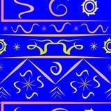 Разнообразие картины сини вселенной Стоковое Фото