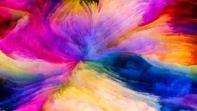 Разнообразие краски цифров стоковое фото