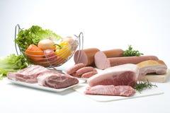 разнообразие мяс Стоковые Изображения RF