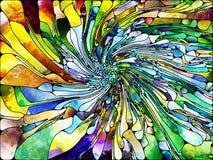 Разнообразие освинцованного стекла Стоковое фото RF