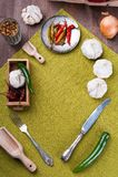 Разнообразие перца Стоковая Фотография RF