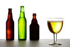 разнообразие пива Стоковые Фотографии RF
