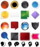 разнообразие психологии установленное Стоковая Фотография RF