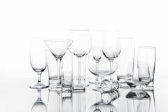 Выпивая стекла Стоковая Фотография RF