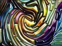 Разнообразие радужного стекла иллюстрация штока