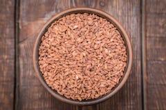 Разнообразие риса зерна Брайна Стоковая Фотография