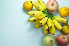 разнообразие свежих фруктов Стоковая Фотография RF