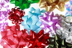 Разнообразие смычков подарка Стоковое Фото