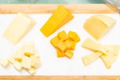 Разнообразие сыра стоковые изображения rf
