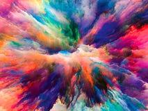 Разнообразие сюрреалистической краски Стоковые Фото