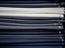 разнообразие текстуры костюма ткани Стоковые Изображения RF