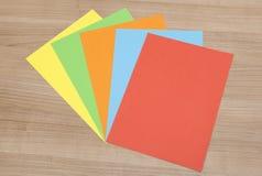 Разнообразить красочная бумага Стоковая Фотография